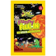 Penguin National Geographic Kids Funny Fill-In My Space Adventure