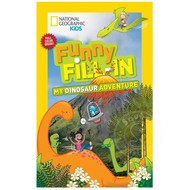 Penguin National Geographic Kids Funny Fill-In My Dinosaur Adventure