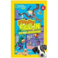Penguin National Geographic Kids Funny Fill-In My Pet Adventure