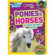 Random House National Geographic Kids Amazing Ponies & Horses Sticker Activity Book