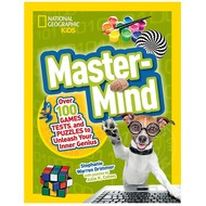 Random House National Geographic Kids Master-Mind Games, Tests, Puzzles