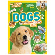 Random House National Geographic Kids  Amazing Dogs Sticker Activity Book