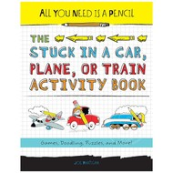 Penguin All You Need is a Pencil, The Stuck in the Car, Plane, or Train Activity Book