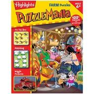 Highlights PuzzleMania Farm Puzzles