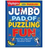 Penguin Highlights Jumbo Pad of Puzzling Fun