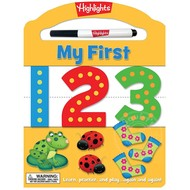 Penguin Highlights My First 123 Dry Erase Activity Book