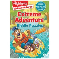Penguin Highlights Hidden Pictures Extreme Adventure Riddle Puzzles