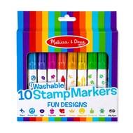 Melissa & Doug Melissa & Doug 10 Stamp Markers Fun Designs