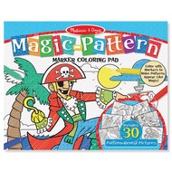 Melissa & Doug Melissa & Doug Magic Pattern Coloring Pad - Blue_