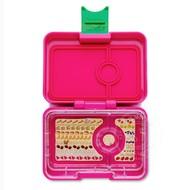 Yumbox YumBox Mini Snack 3 Compartment - Cherie Pink _