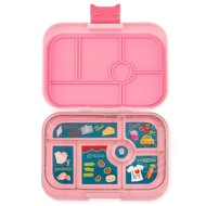 Yumbox YumBox Original 6 Compartment - Gramercy Pink w/ NYC Tray _