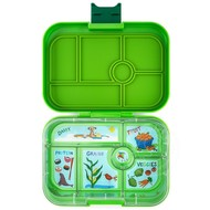 Yumbox YumBox Original 6 Compartment - Avocado Green w/ Kite Tray