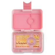 Yumbox YumBox Mini Snack 3 Compartment - Hollywood Pink w/ Kittycat Tray