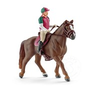 Schleich Schleich Eventing Rider with Horse RETIRED