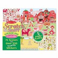 Melissa & Doug Melissa & Doug Scratch & Sniff Sticker Pad - Fruitville