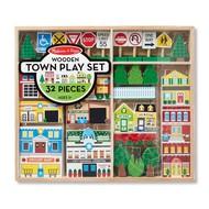 Melissa & Doug Melissa & Doug Wooden Town Play Set