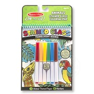 Melissa & Doug Melissa & Doug On the Go Stained Glass Coloring Pad - Animals