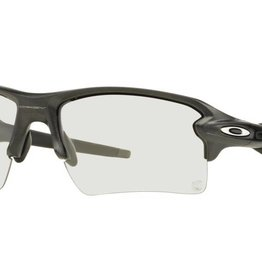 Oakley Flak 2.0 XL Steel w/Clr to Blk Photo