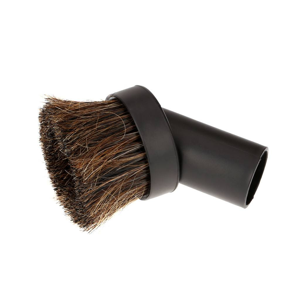CVS Round Horse Hair Dusting Brush - Black