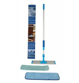 Centec DustUp Hard Floor Mop w/Stainless Steel Wands