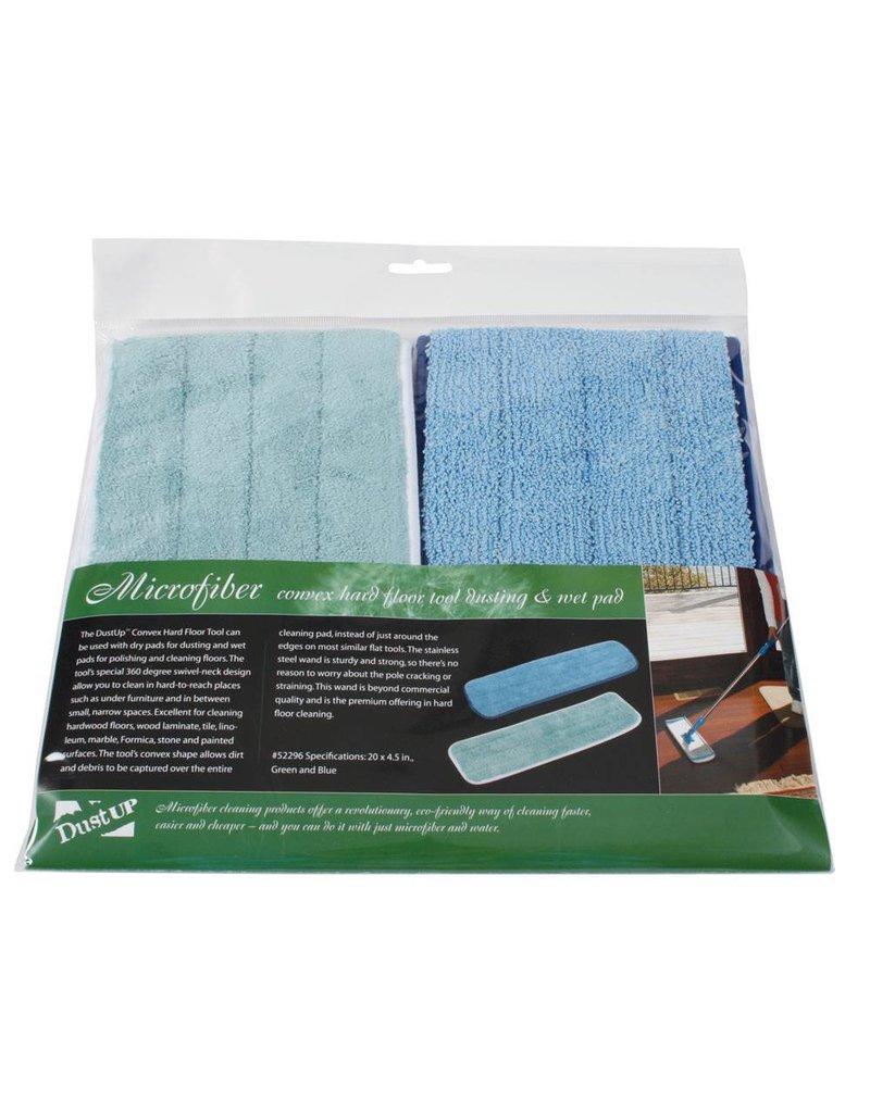 Centec CenTec Microfiber 1 Wet / 1 Dry Mop Pad (2pk)