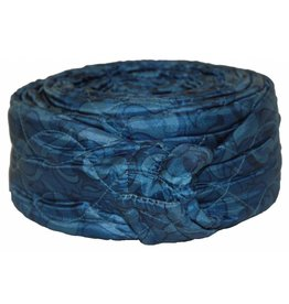 CVS 30' Quilted Zipper Hose Sock - Blue