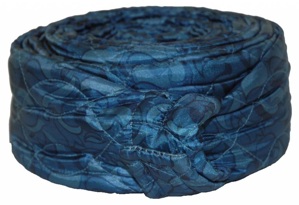 CVS 30' Quilted Zipper Hose Sock - Blue
