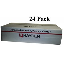 Hayden Hayden White Round Door Valve - Box of 24