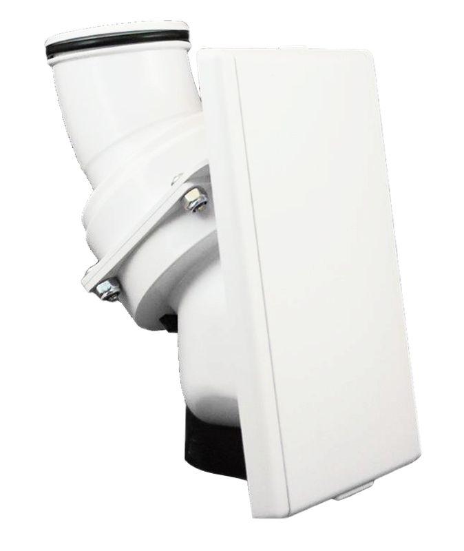 Hide A Hose Hide A Hose Valve Trim Kit - White - 5000 Series