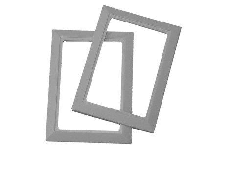 Beam Inlet Valve Trim Plate - White