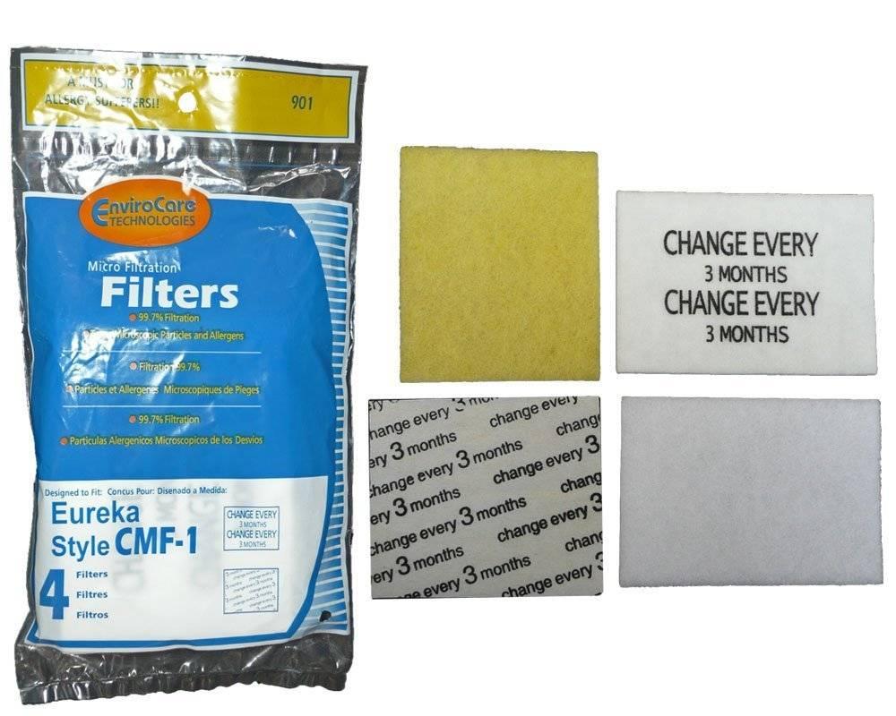 EnviroCare EnviroCare CMF-1 Filter Set - Fits Eureka