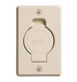 BEAM Beam Round Door Valve (Low Volt) - Bisque / Almond