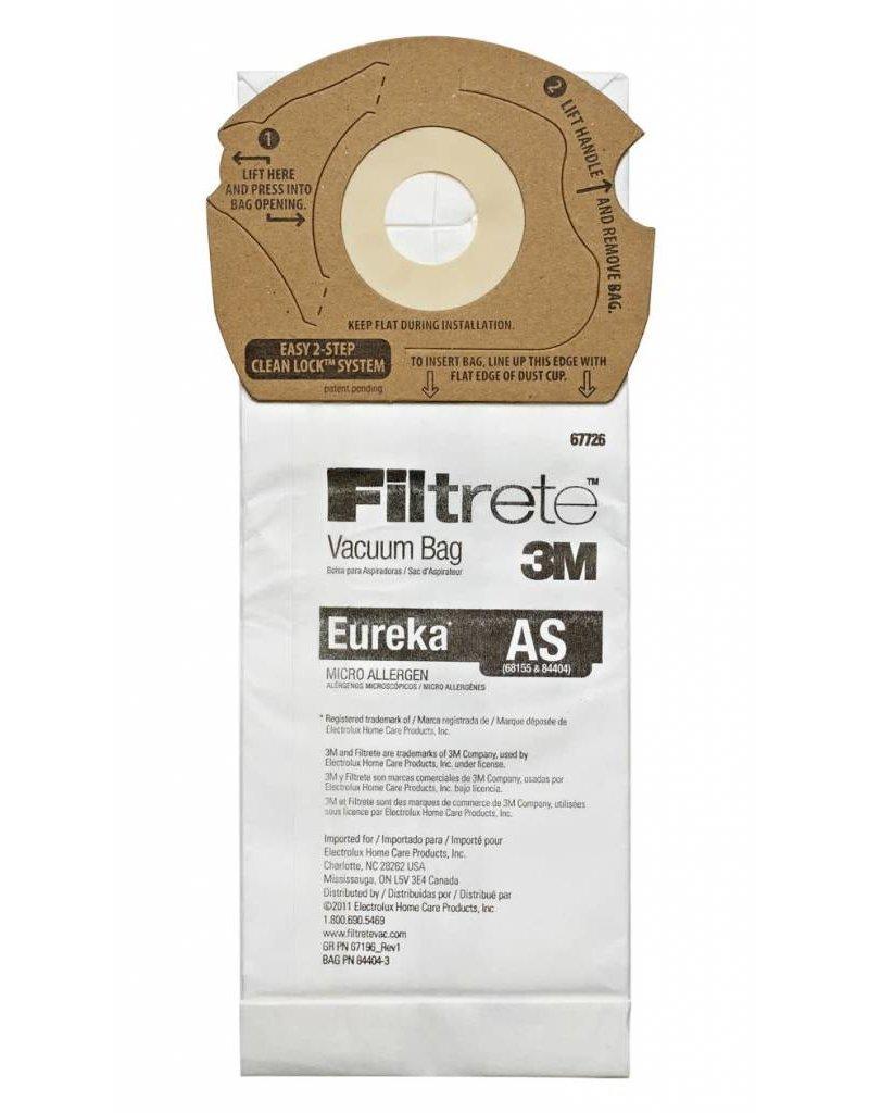 """3M Filtrete 3M Type """"AS"""" Bags (3pk)"""