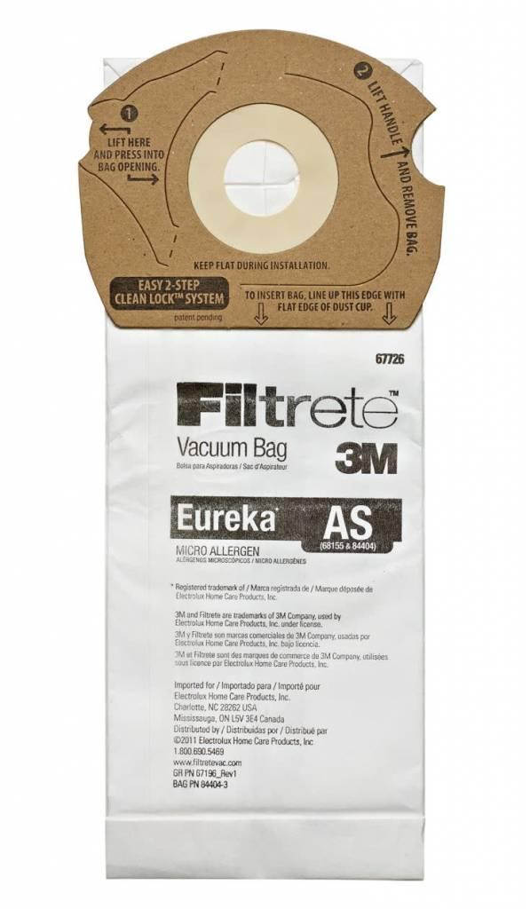 """Filtrete Filtrete Eureka Type """"AS"""" Bags (3pk)"""