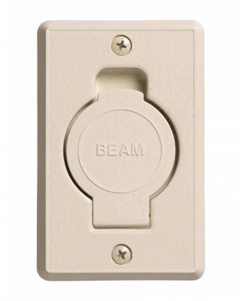 Beam Round Door Valve (Low Volt) - Ivory