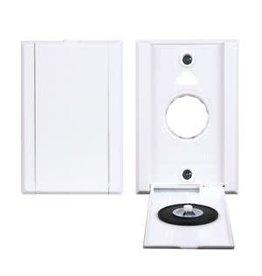 Hayden Vacu-Valve Full Door (Dual Volt) Inlet Valve - White