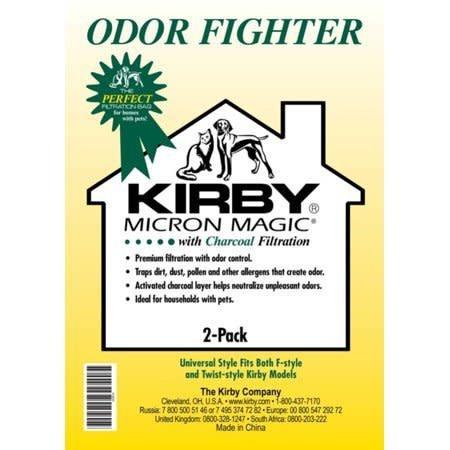 Kirby Micron Magic Odor Eliminating Charcoal Bag (2pk)