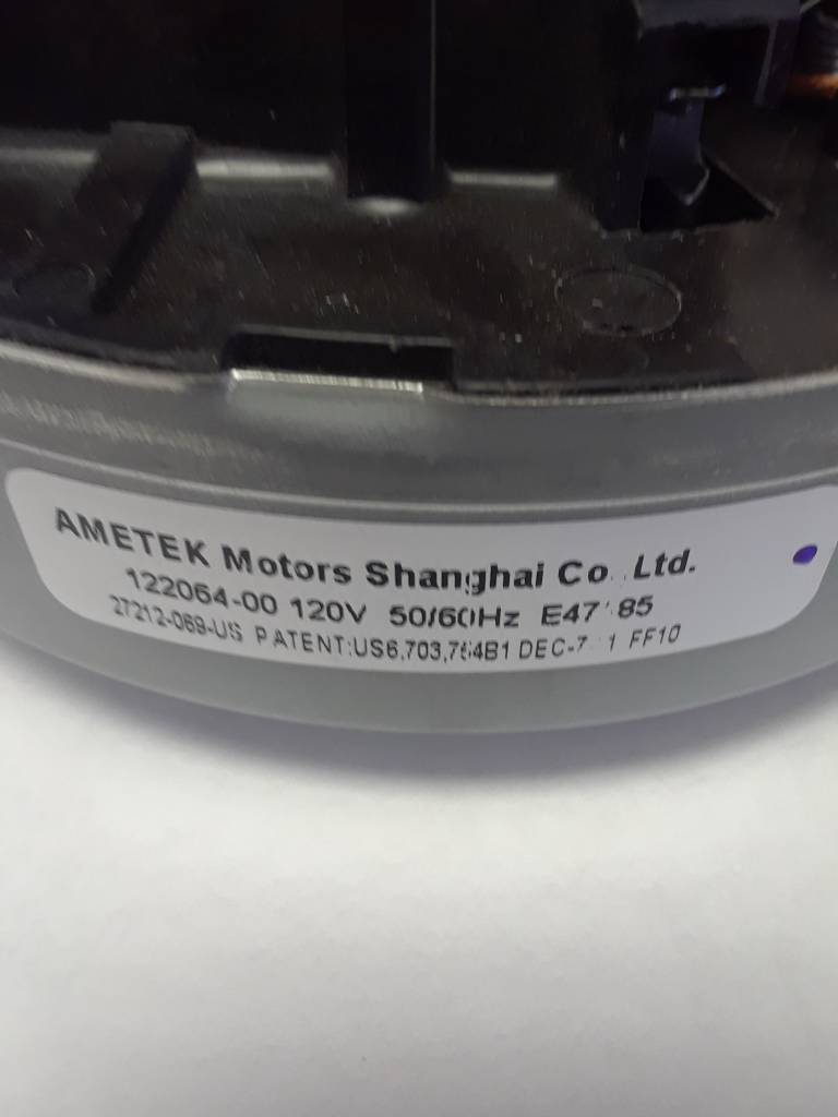 Hoover Hoover Motor Assembly Model 6400 Series