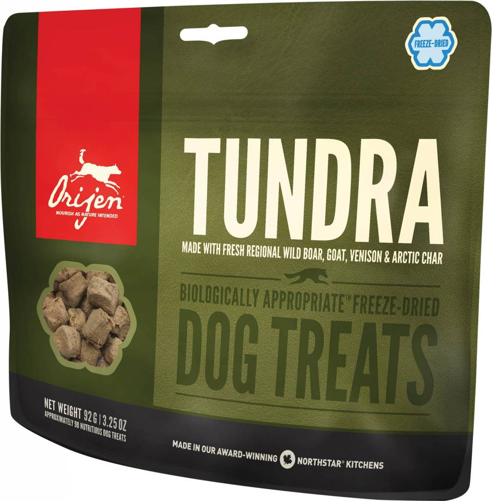 Champion Pet Foods Orijen Tundra 3.25oz Freeze-Dried Dog Treat