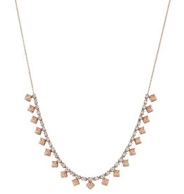 Diamond Pyramid Choker