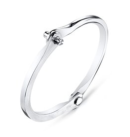 Diamond Silver Handcuff