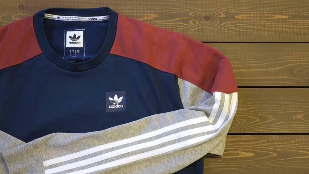 Adidas nautical apparel