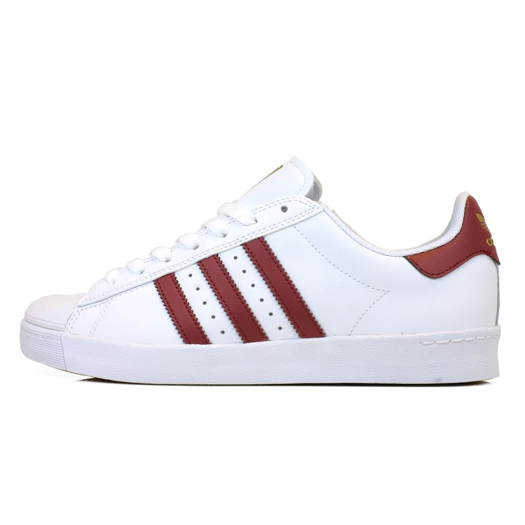 Superstar Vulc Adv Adidas by3942 ftwwht/cburgu/goldmt Flight