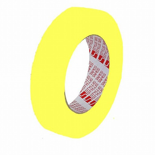 Mark Up Tape Cloth 12mm x 25m - Yellow