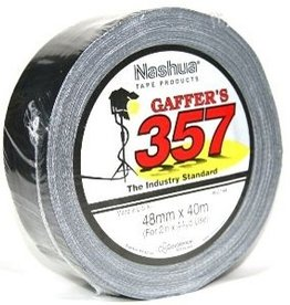 Nashua 357 Gaffa Tape 48mm x 40m - Black