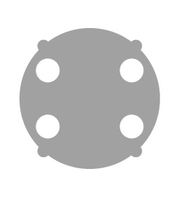 Astera AX3 Wallwash lens