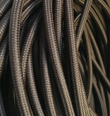 Brown Fabric Cable
