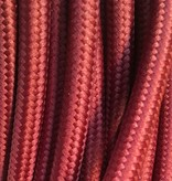 Burgundy Fabric Cable