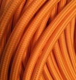 Orange Fabric Cable