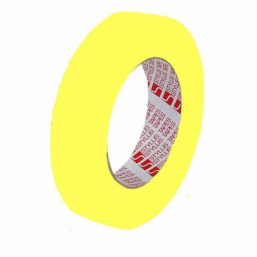Mark Up Tape Cloth 12mm x 25m - Yellow
